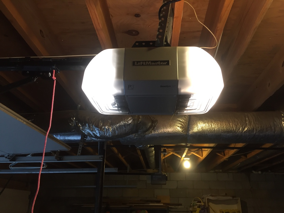 Kingston Springs, TN - Replaced garage door opener and rail with a new belt