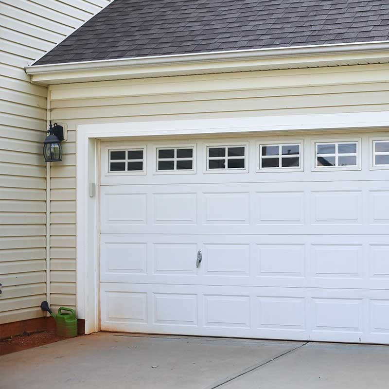 New garage door installation in Huntersville NC