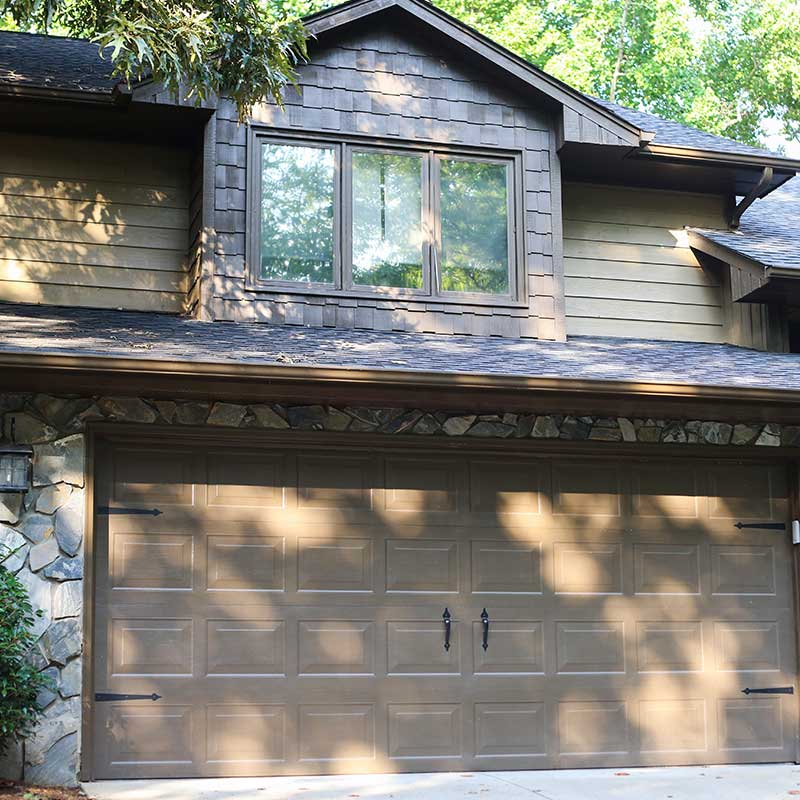 Tip Top Garage doors customer house