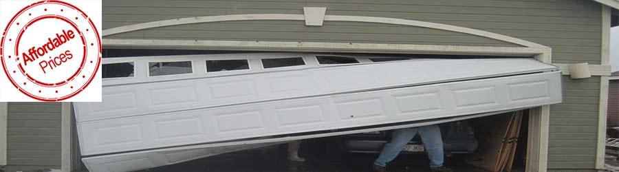 Affordable garage door installation