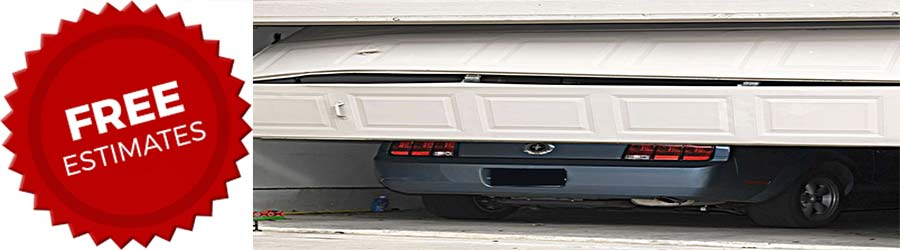 free estimate new garage door