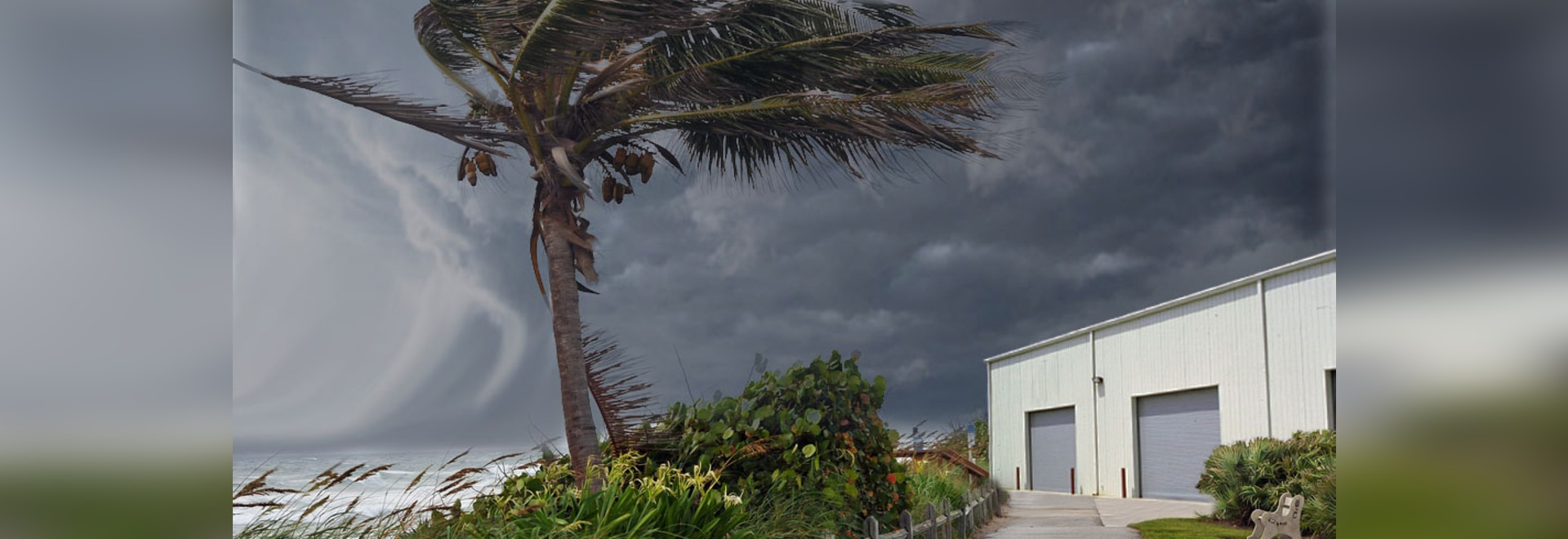 garage door storm