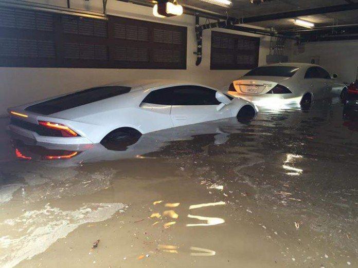 garage flood