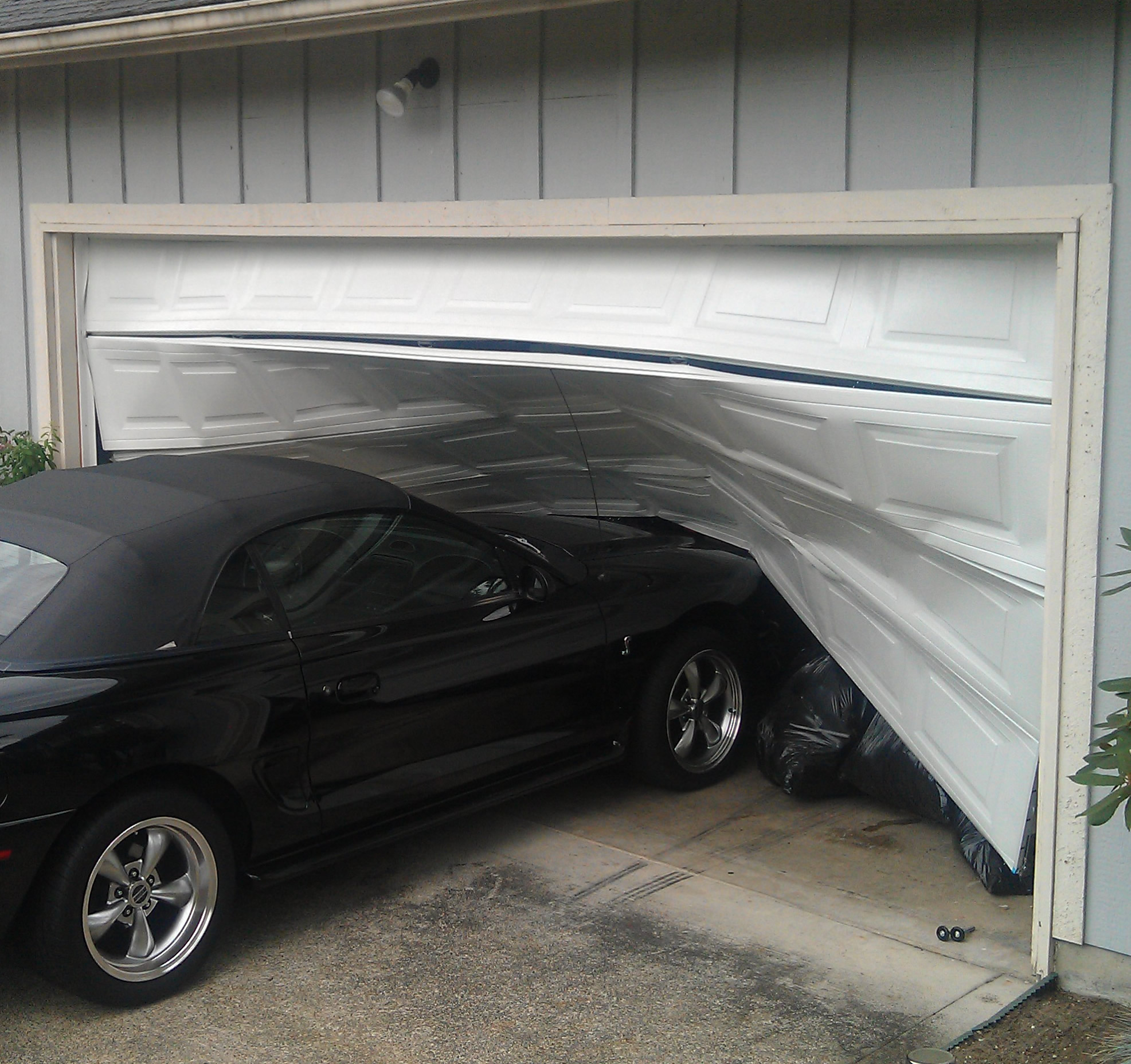 garage repair in Concord NC