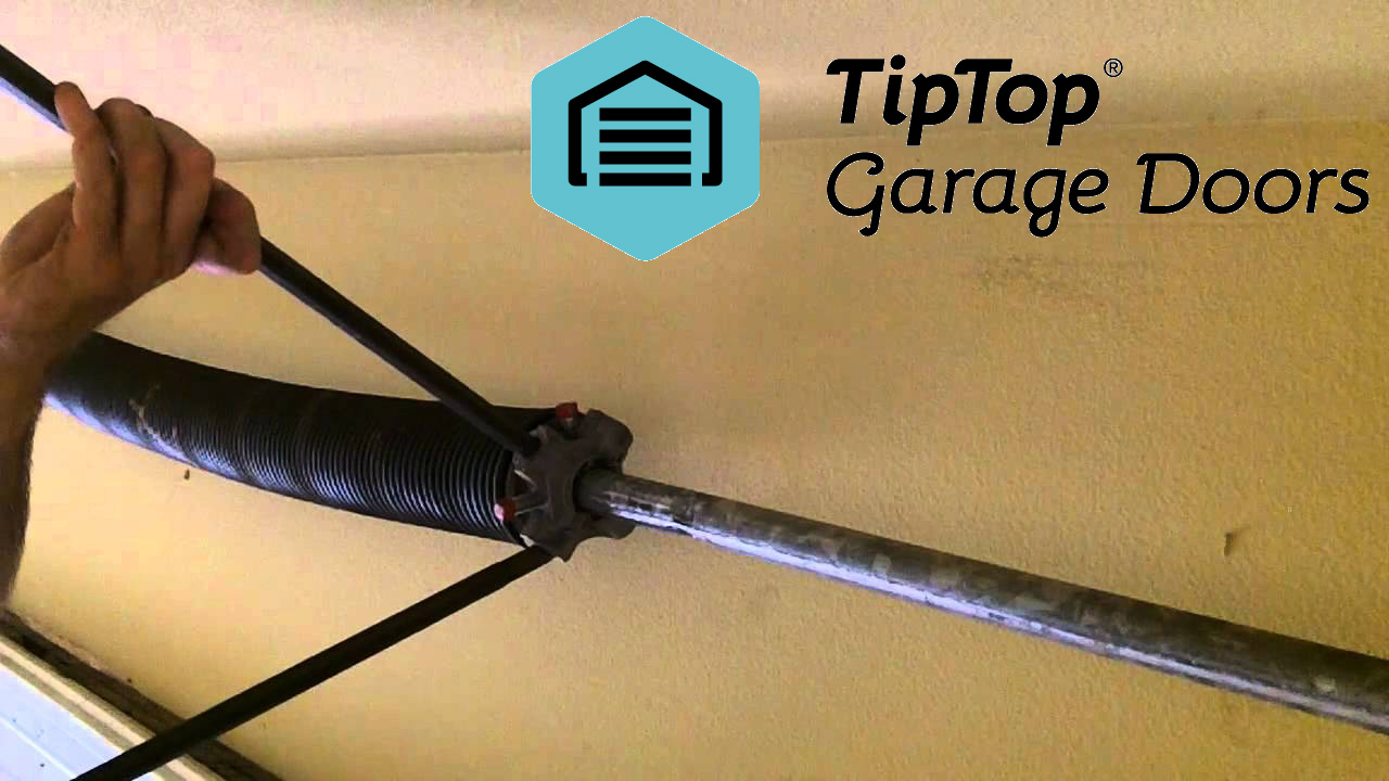 turn-a-garage-door-spring